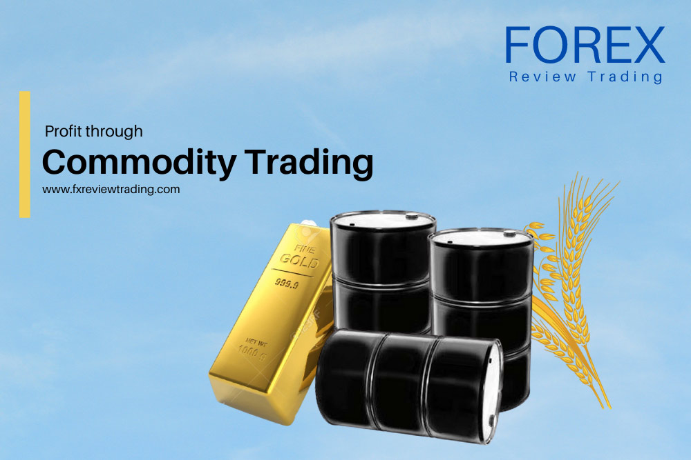 How can you make a profit through commodity trading