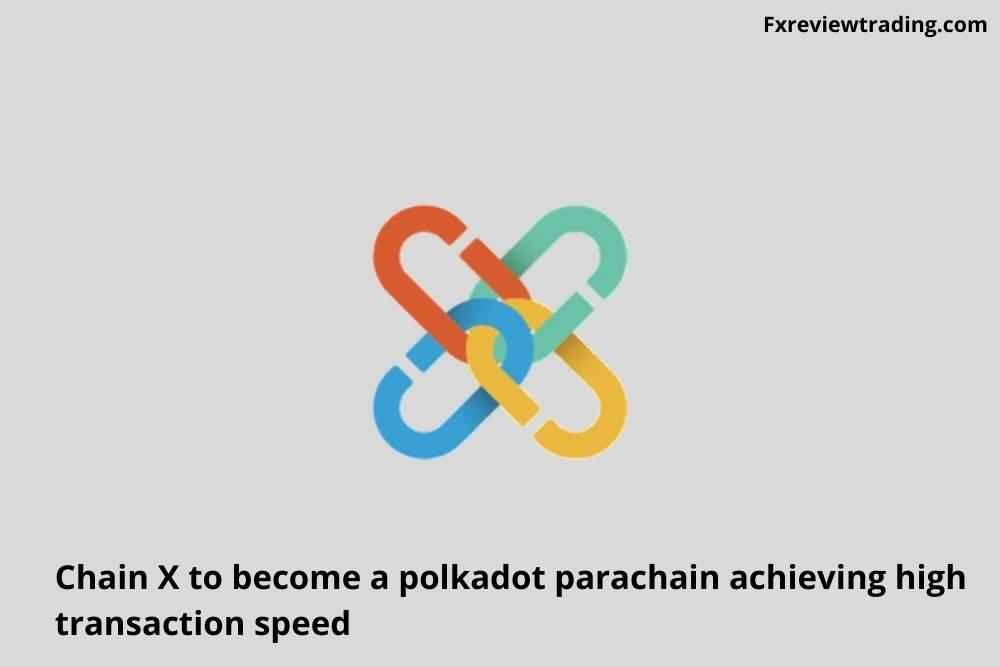 Chain X to become a polkadot parachain achieving high transaction speed