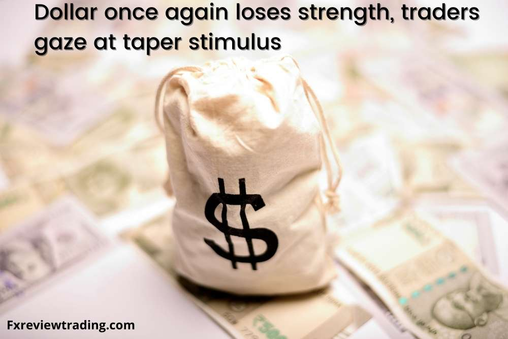 Dollar once again loses strength