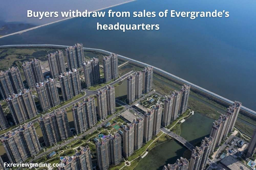Buyers withdraw from sales of Evergrande's headquarters