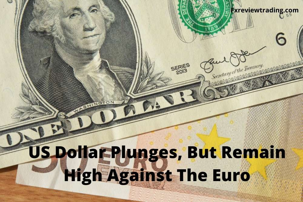 US dollar plunges
